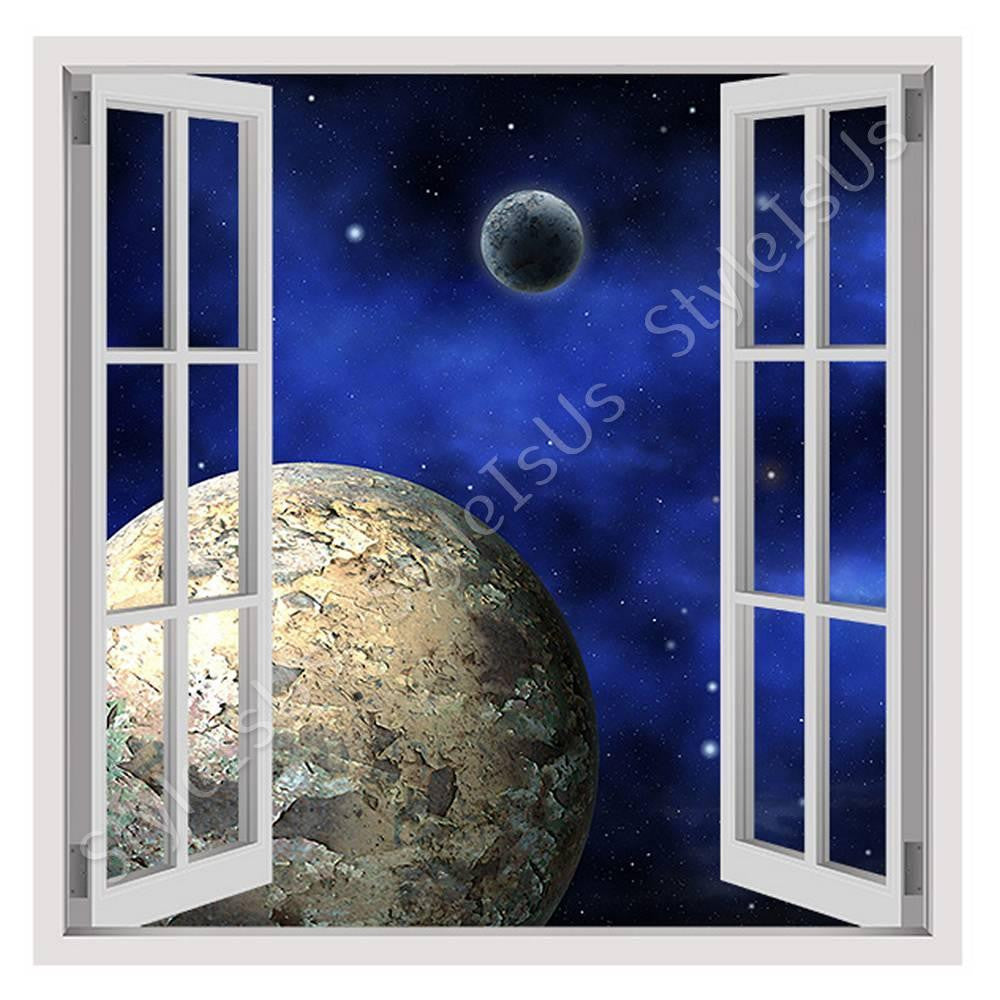 Fake 3D Window Digital Art Global | Canvas, Posters, Prints & Stickers - StyleIsUS.com