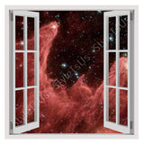 Fake 3D Window Space Travel | Canvas, Posters, Prints & Stickers - StyleIsUS.com