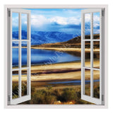 Fake 3D Window Utahs Salt Lake | Canvas, Posters, Prints & Stickers - StyleIsUS.com