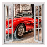Fake 3D Window Vintage Fiat 1953 | Canvas, Posters, Prints & Stickers - StyleIsUS.com