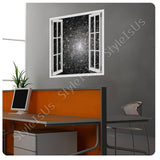 Fake 3D Window Star formation at the sky | Canvas, Posters, Prints & Stickers - StyleIsUS.com