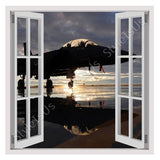 Fake 3D Window F15 US air force | Canvas, Posters, Prints & Stickers - StyleIsUS.com