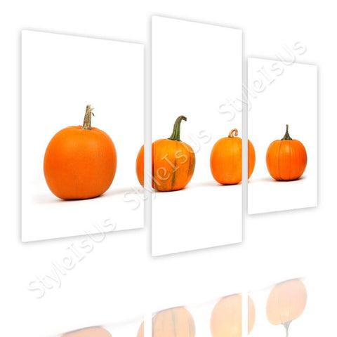 Split 3 panels Pumpkins 3 Panels | Canvas, Posters, Prints & Stickers - StyleIsUS.com