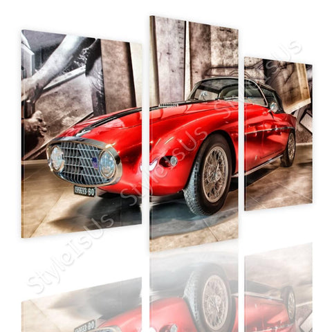 Split 3 panels Vintage Fiat 1953 3 Panels | Canvas, Posters, Prints & Stickers - StyleIsUS.com