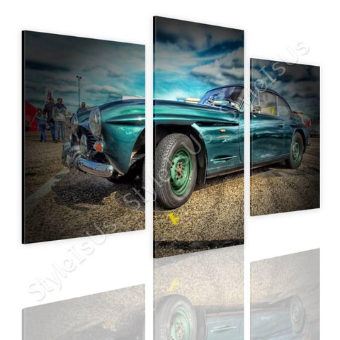 Split 3 panels Vintage Car 1961 3 Panels | Canvas, Posters, Prints & Stickers - StyleIsUS.com