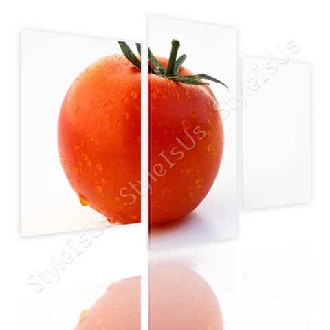 Split 3 panels Tomato fruity juicy 3 Panels | Canvas, Posters, Prints & Stickers - StyleIsUS.com