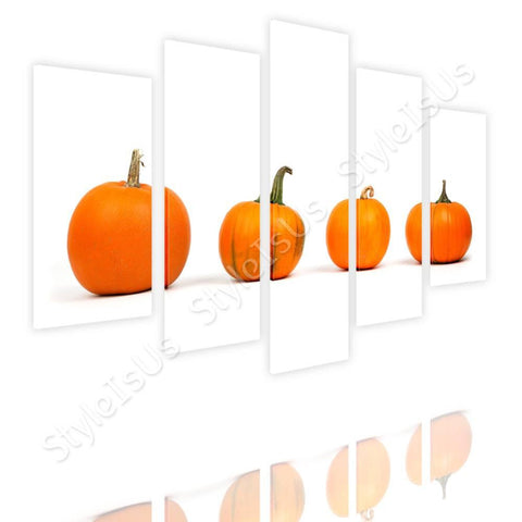 Split 5 panels Pumpkins 5 Panels | Canvas, Posters, Prints & Stickers - StyleIsUS.com