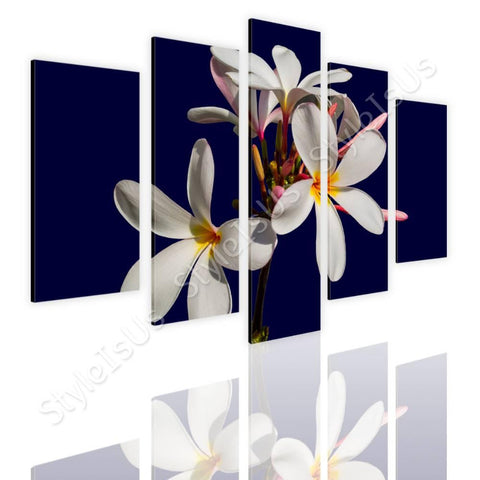 Split 5 panels Blossom of a Flower 5 Panels | Canvas, Posters, Prints & Stickers - StyleIsUS.com