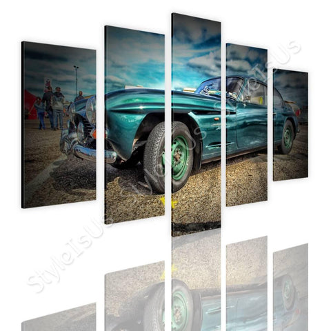 Split 5 panels Vintage Car 1961 5 Panels | Canvas, Posters, Prints & Stickers - StyleIsUS.com