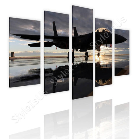 Split 5 panels F15 US air force 5 Panels | Canvas, Posters, Prints & Stickers - StyleIsUS.com