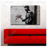 Banksy Hell Kitchen Waiting In Vain | Canvas, Posters, Prints & Stickers - StyleIsUS.com