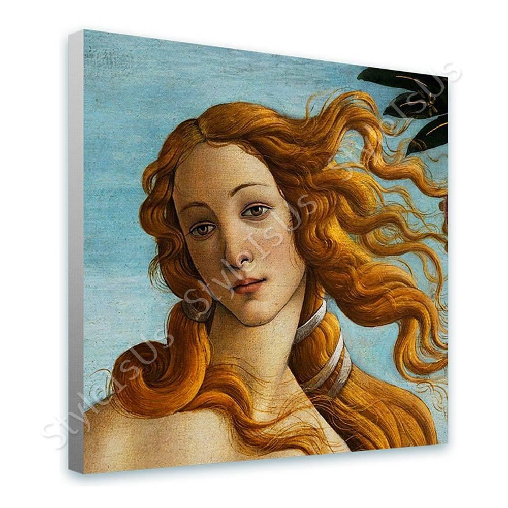 Sandro Botticelli Venus | Canvas, Posters, Prints & Stickers - StyleIsUS.com