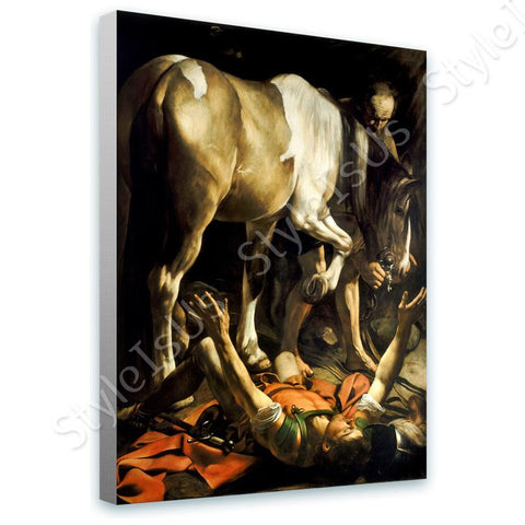 Caravaggio The Conversion of Saint Paul | Canvas, Posters, Prints & Stickers - StyleIsUS.com