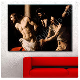 Caravaggio Christ at the Column | Canvas, Posters, Prints & Stickers - StyleIsUS.com