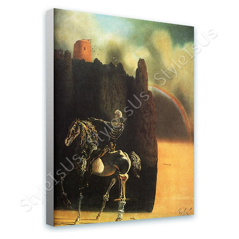 Salvador Dali Horseman of Death | Canvas, Posters, Prints & Stickers - StyleIsUS.com