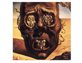 Salvador Dali The Face Of War | Canvas, Posters, Prints & Stickers - StyleIsUS.com