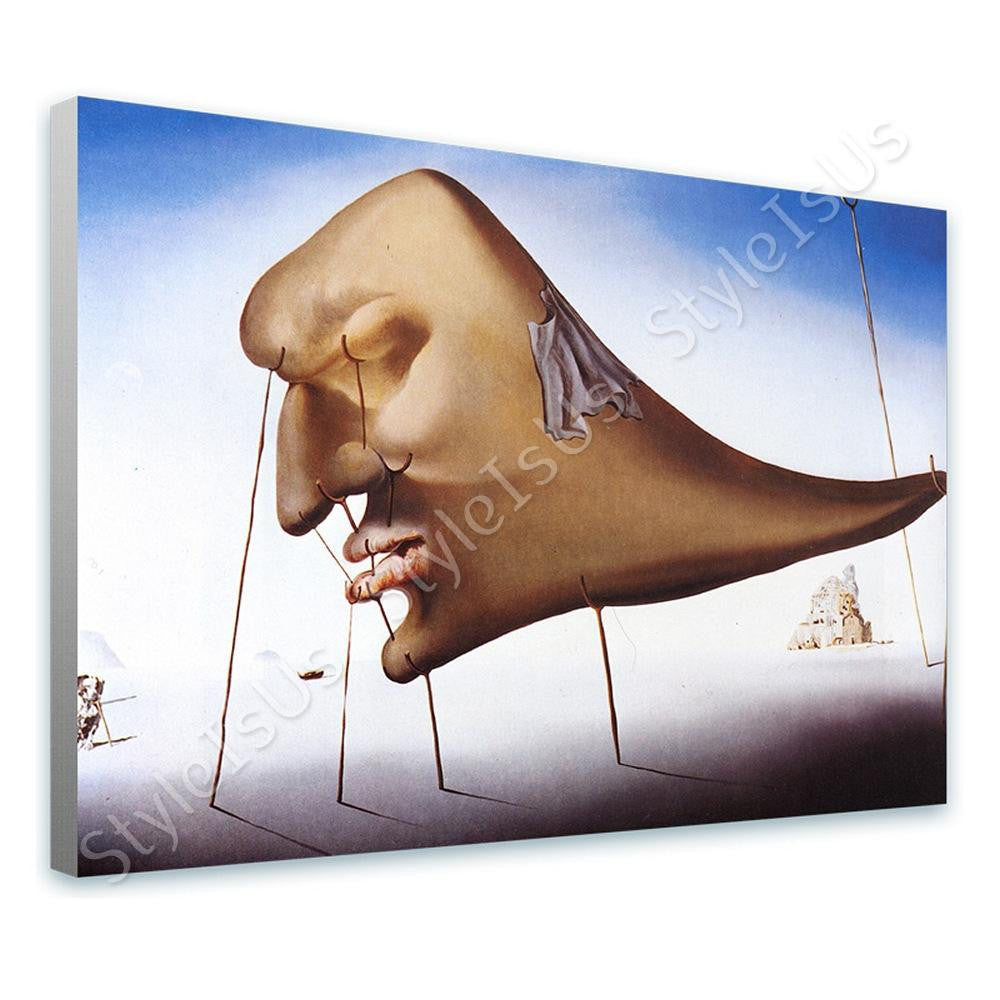 Salvador Dali Sleep | Canvas, Posters, Prints & Stickers - StyleIsUS.com