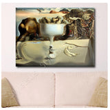 Salvador Dali Apparition of Face Fruit Dish | Canvas, Posters, Prints & Stickers - StyleIsUS.com