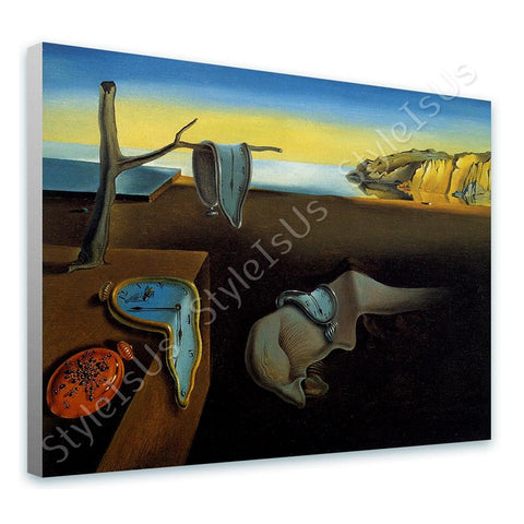 Salvador Dali The Persistence of Memory | Canvas, Posters, Prints & Stickers - StyleIsUS.com