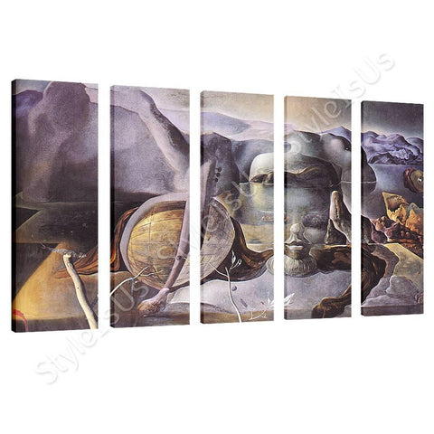 Salvador Dali The Endless Enigma 5 Panels | Canvas, Posters, Prints & Stickers - StyleIsUS.com