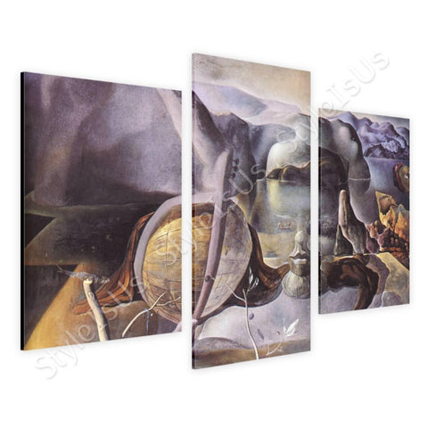Salvador Dali The Endless Enigma 3 Panels | Canvas, Posters, Prints & Stickers - StyleIsUS.com