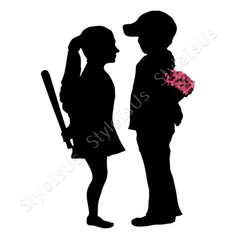 Alonline Designs Banksy Boy Meets Girl | Canvas, Posters, Prints & Stickers - StyleIsUS.com