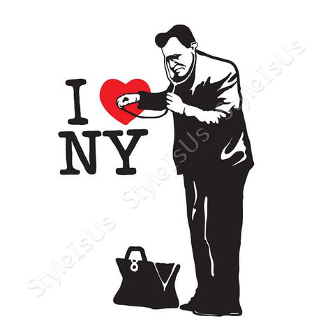 Alonline Designs Banksy Doctor NY | Canvas, Posters, Prints & Stickers - StyleIsUS.com