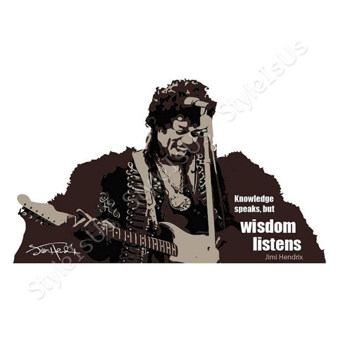 Alonline Designs Jimi Hendrix | Canvas, Posters, Prints & Stickers - StyleIsUS.com