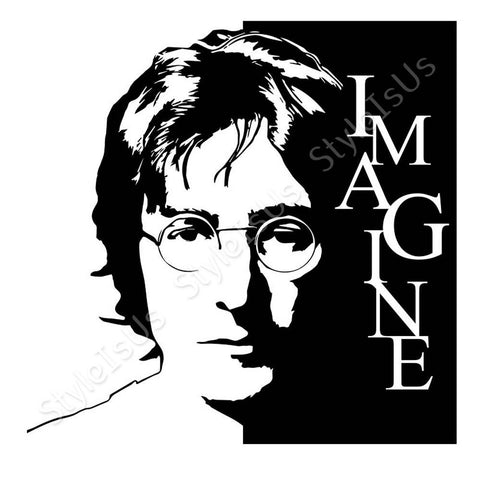 Alonline Designs Imagine John Lennon | Canvas, Posters, Prints & Stickers - StyleIsUS.com