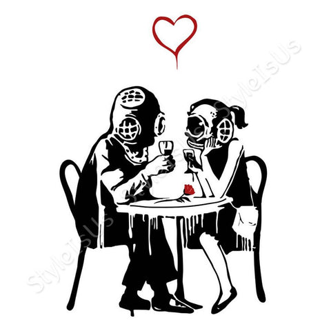 Alonline Designs Banksy Think Tank | Canvas, Posters, Prints & Stickers - StyleIsUS.com