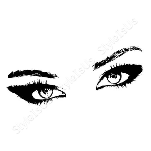 Alonline Designs Beautiful Eyes | Canvas, Posters, Prints & Stickers - StyleIsUS.com