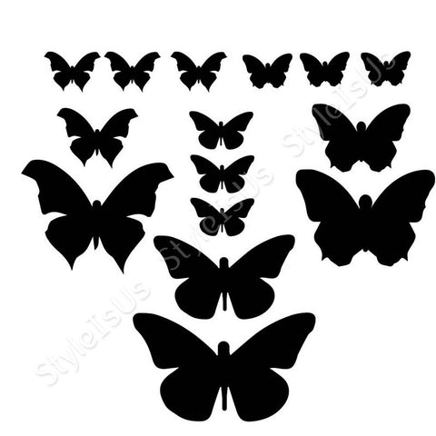 Alonline Designs stickers all sizes of butterflies | Canvas, Posters, Prints & Stickers - StyleIsUS.com