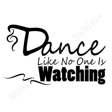 Alonline Designs Dance like no one is watching | Canvas, Posters, Prints & Stickers - StyleIsUS.com
