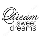 Alonline Designs Dream Sweet Dreams | Canvas, Posters, Prints & Stickers - StyleIsUS.com