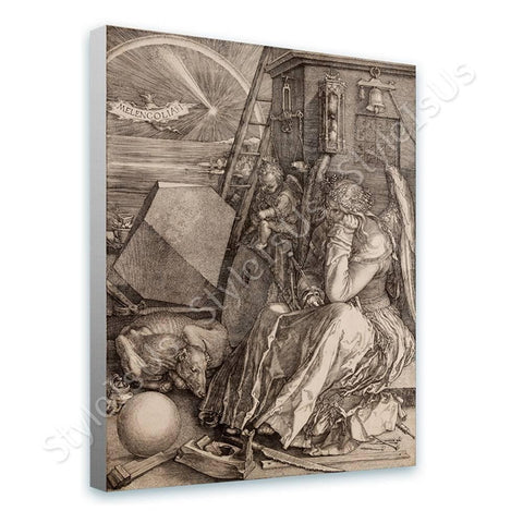 Albrecht Durer Melencolia I | Canvas, Posters, Prints & Stickers - StyleIsUS.com