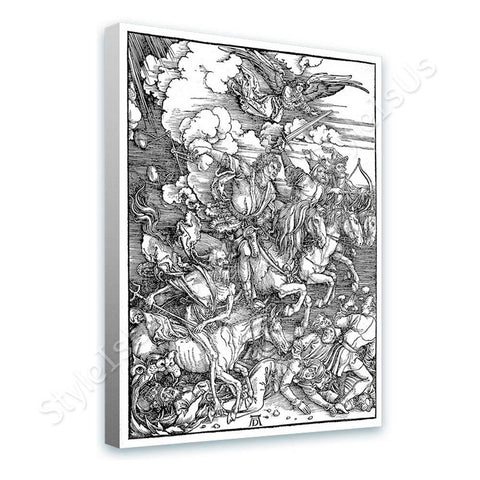 Albrecht Durer The Four Horsemen Apocalypse | Canvas, Posters, Prints & Stickers - StyleIsUS.com