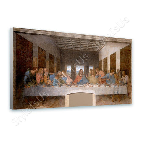 Leonardo da Vinci The last supper | Canvas, Posters, Prints & Stickers - StyleIsUS.com