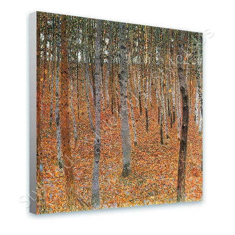 Gustav Klimt Beechwood birch Forest | Canvas, Posters, Prints & Stickers - StyleIsUS.com