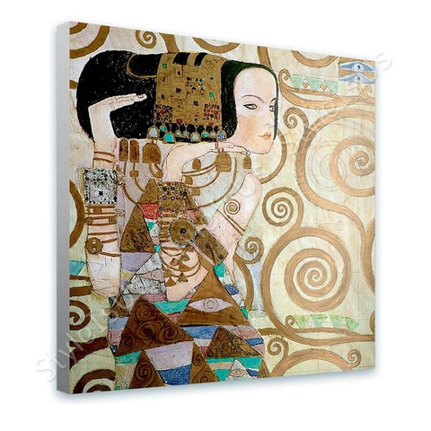 Gustav Klimt Expectation | Canvas, Posters, Prints & Stickers - StyleIsUS.com