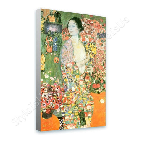 Gustav Klimt Die Tanzerin The Dancer | Canvas, Posters, Prints & Stickers - StyleIsUS.com