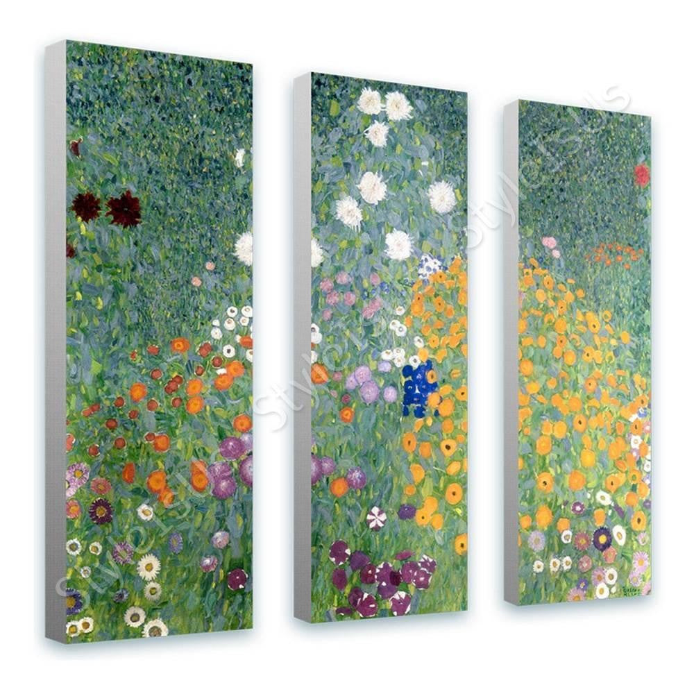 Gustav Klimt Paintings 3 Panels | Canvas, Posters, Prints & Stickers - StyleIsUS.com