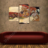 Gustav Klimt Water Snakes Serpents II 3 Panels | Canvas, Posters, Prints & Stickers - StyleIsUS.com