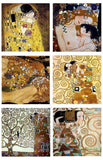 Gustav Klimt mother child kiss tree snakes Set Of 6 | Canvas, Posters, Prints & Stickers - StyleIsUS.com