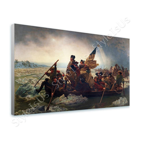 Emanuel Leutze Washington Crossing the Delaware | Canvas, Posters, Prints & Stickers - StyleIsUS.com