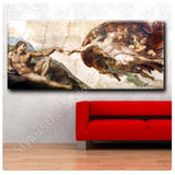 Michelangelo The Creation of adam | Canvas, Posters, Prints & Stickers - StyleIsUS.com