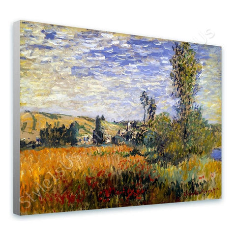 Claude Monet Landscape Vetheuil | Canvas, Posters, Prints & Stickers - StyleIsUS.com