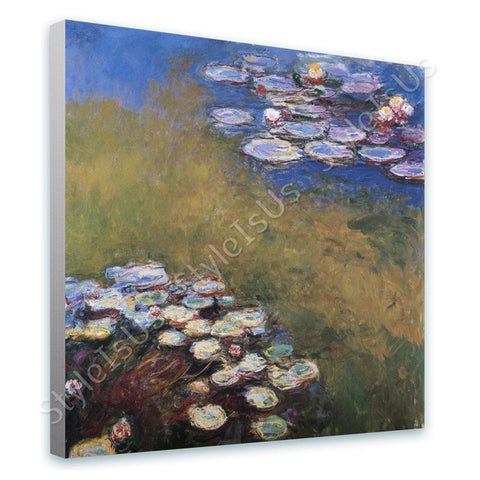 Claude Monet Sinfonia | Canvas, Posters, Prints & Stickers - StyleIsUS.com