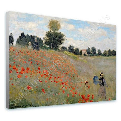 Claude Monet Wild Poppies | Canvas, Posters, Prints & Stickers - StyleIsUS.com