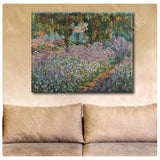 Claude Monet Irises | Canvas, Posters, Prints & Stickers - StyleIsUS.com