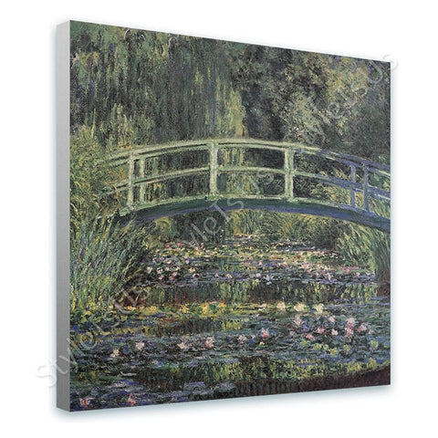 Claude Monet Water lily | Canvas, Posters, Prints & Stickers - StyleIsUS.com